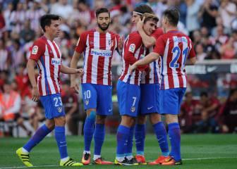 Atlético de Madrid-Sporting de Gijón en imágenes