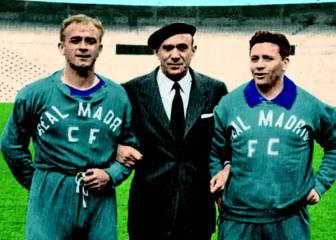 Bernabéu se adelanta en el fichaje de Molowny (1946)