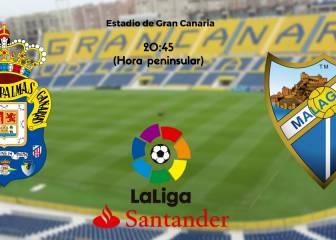 Las Palmas 1 - 0 Málaga: resumen, resultado y goles