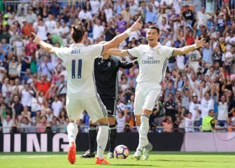 Bale y Cristiano, bajas: