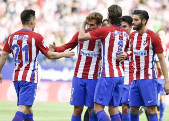 1x1 del Atleti: Griezmann se desata y Torres se estrena