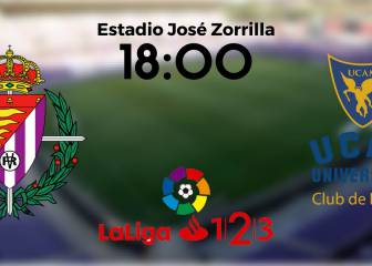 Valladolid 0 - 1 UCAM Murcia: resumen, resultado y goles