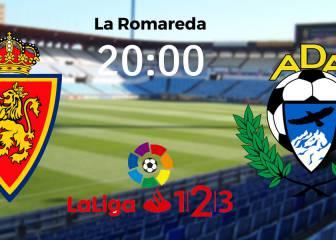 Zaragoza vs Alcorcón: resumen, resultado y goles