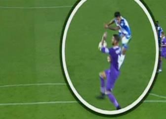 Ramos pudo ser expulsado