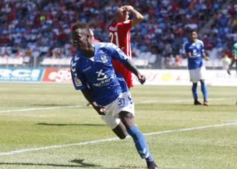 Amath vuelve loco al Almería y da al Tenerife tres puntos