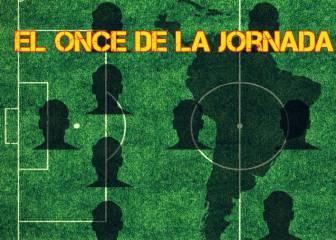 El once latinoamericano de la jornada en las ligas en Europa