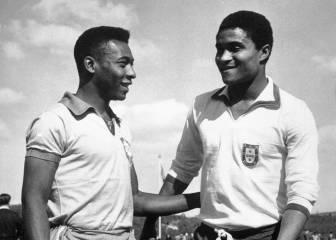 Pelé da el gran zapatazo ante el Benfica (1962)