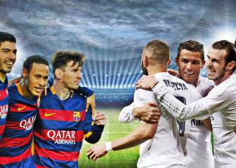 Madrid vs Barcelona: ¿cuánto dependen de sus tridentes?