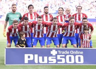 El Atlético más multinacional: 9 países diferentes en el once