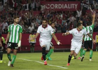Sevilla 1 - 0 Betis: resumen, resultado y goles