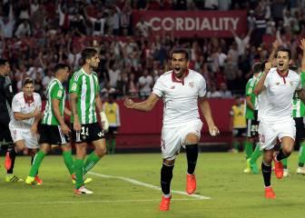 Sevilla-Betis en imágenes