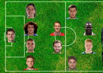 Este sería un 11 de jugadores defenestrados por Mourinho...