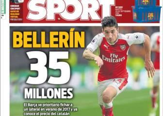 Según Sport, Bellerín cuesta 35 millones