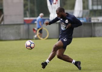 Babel recibe el transfer y ya puede debutar con el Deportivo