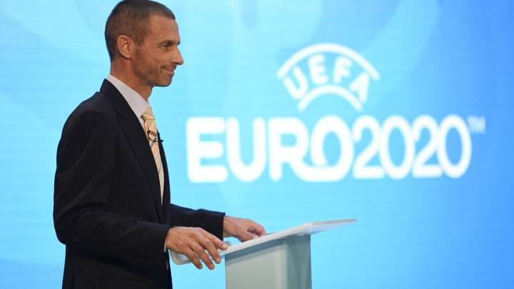 """Ceferin: """"Londres es la elección perfecta para la Euro 2020"""""""