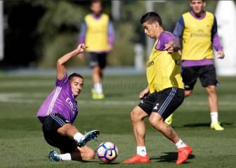 James vuelve a la titularidad en el Bernabéu 136 días después