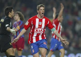 Torres: 2 goles la última vez que el Atleti ganó en el Camp Nou