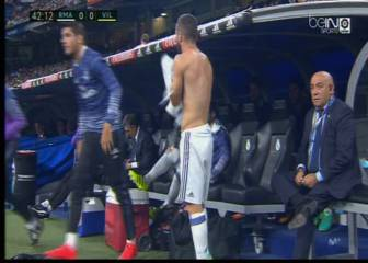 Carvajal entró tres minutos después de la lesión de Marcelo