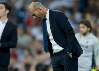 Zidane no superó el récord de 16 victorias seguidas de Guardiola
