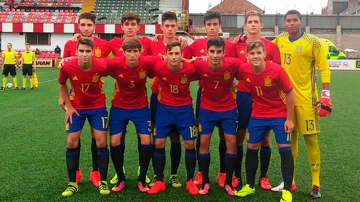 La Sub-17 golea a San Marino y se clasifica para el PreEuropeo