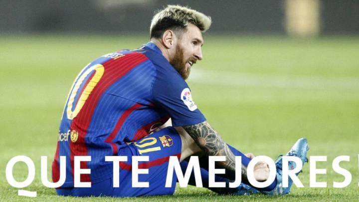 El Gladbach lamenta la ausencia de Messi en la Champions