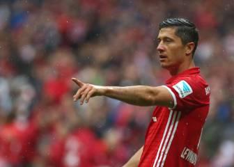 Lewandowski, sobre la oferta Bayern: