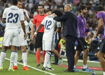 Marcelo no volverá a jugar hasta después del parón FIFA