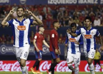 El Espanyol suma su primera victoria a costa del Osasuna