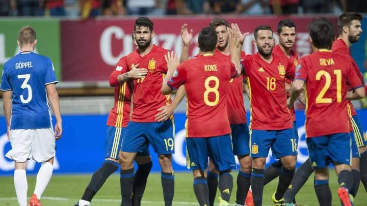 España jugará con Macedonia el 12 de noviembre en Granada