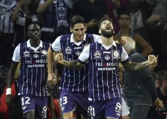 El PSG de Emery se la pega en Toulouse, sin Jesé ni Ben Arfa