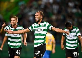 El Sporting de Portugal suma su quinta victoria ante el Estoril