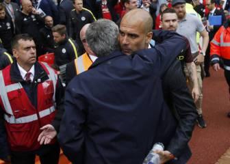 Pep deja atrás su guerra con Mourinho y sale en su defensa