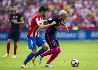 Sporting 0 - 5 Barcelona: resumen, resultado y goles