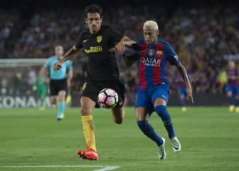 Savic, un muro en la defensa del Atlético sin cometer faltas