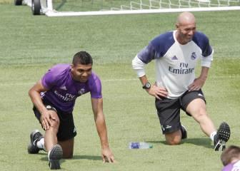 Zidane lo gana todo en Liga con Casemiro; sin él, sólo el 63%