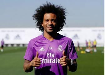 Mensaje de Marcelo a la afición después de su lesión