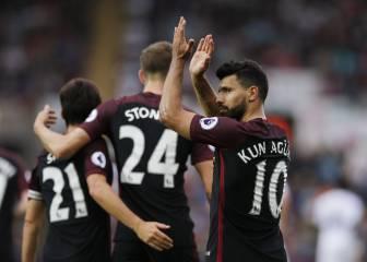 El Manchester City gana sin brillo en el regreso del Kun Agüero
