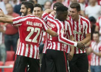 El Athletic sigue lanzado e Iborra acabó de portero en Bilbao