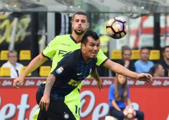 El Inter pincha y el 'Cholito' marca en su estreno como titular