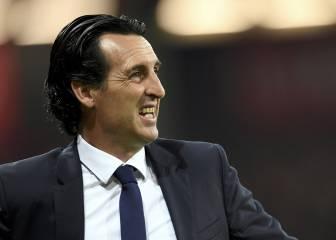 La Champions puede marcar el futuro de Emery en Paris