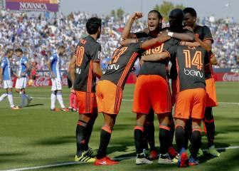 Mario Suárez y Diego Alves prolongan el 'efecto Voro'
