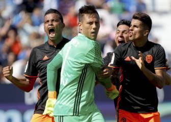 Súper Diego Alves: no hay nadie que haya parado tantos penaltis