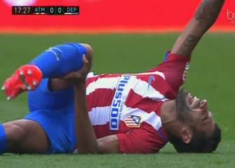 Augusto tiene roto el ligamento cruzado anterior: 7 meses KO