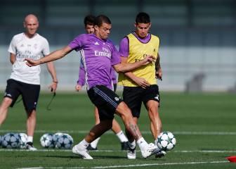 Pepe vuelve al grupo con la mirada puesta en la Champions