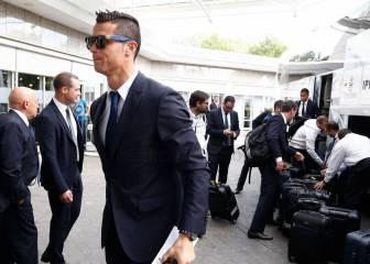 El Madrid llegó a Dortmund: ya piensa en el partido de mañana