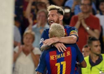 Barça: 78,36% de victorias en la Champions sin Messi