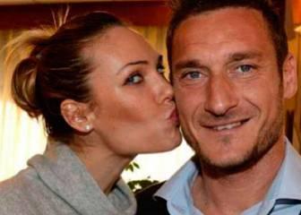 La mujer de Totti ataca al técnico y al presidente del Roma