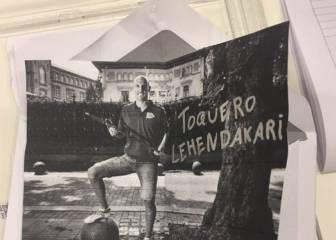 El votante que pidió en las urnas a Toquero de lehendakari