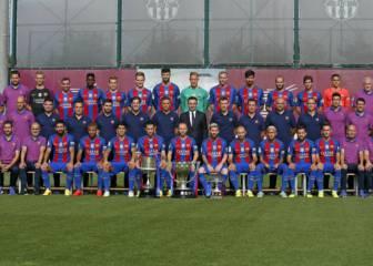 El Barça se hace la foto oficial de la temporada 2016/2017