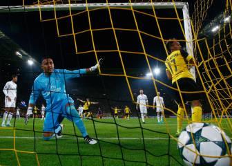 B. Dortmund-Real Madrid en imágenes